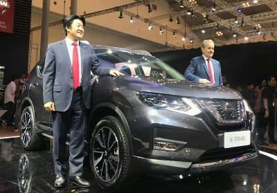 Nissan X-Trail terbaru meluncur di GIIAS 2019.