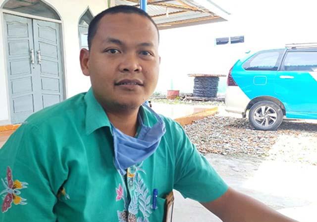 Manajer PLN ULP Bengkalis, Danang Nur Hadianto