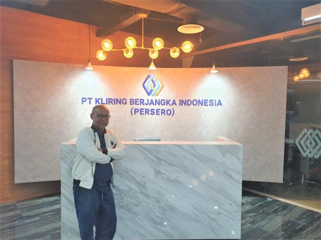 Fajar Wibhiyadi, Direktur Utama PT Kliring Berjangka Indonesia (Persero).