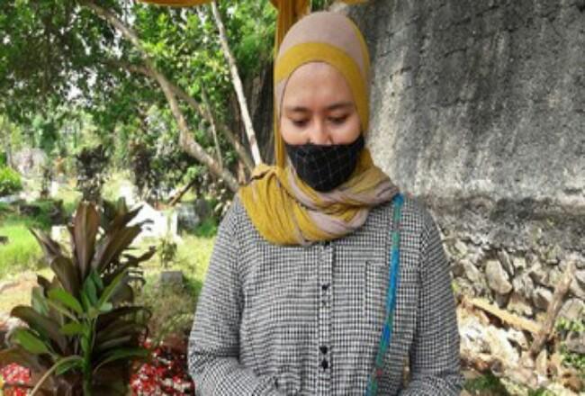 Kekasih Editor Metro TV Yodi Prabowo, Suci Fitri. Foto: Detik