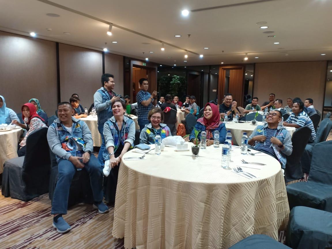 Wartawan se-Sumatera dalam rangkaian media gathering di I Hotel Batam.