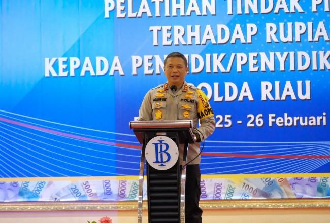 Kapolda Riau, Irjen Pol Agung Setya Imam Efendi