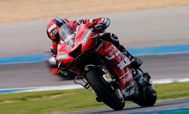 Danilo Petrucci tercepat di sesi ketiga latihan bebas MotoGP Jepang. FOTO: REUTERS