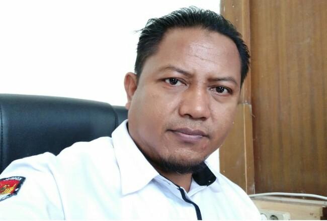 Divisi Program Data & Informasi KPU Pelalawan, H Priyono