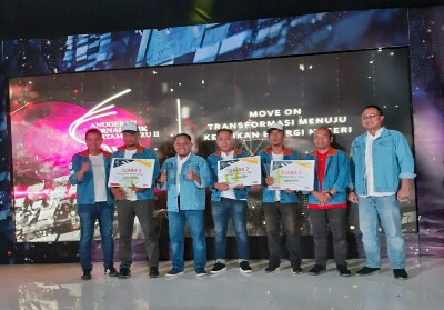 Para pemenang AJP RU 2019 foto bersama.