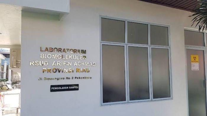 Laboratorium Biomolekuler Rumah Sakit Umum Daerah (RSUD) Arifin Achmad Provinsi Riau