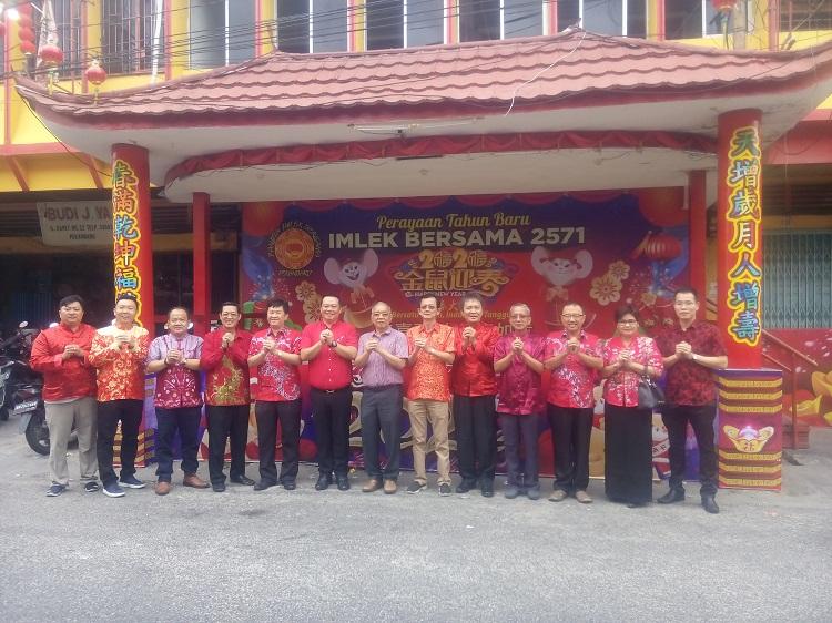 Panitia Imlek dari berbagai organisasti Tionghoa.