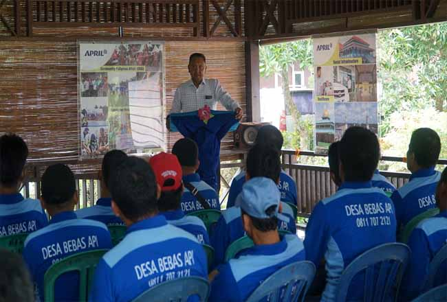 GM SHR PT RAPP, Wan Jakh mengatakan dalam pelatihan upaya pencegahan kebakaran hutan dan lahan, PT RAPP selalu bekerjasama dengan masyarakat dan pemerintah daerah.