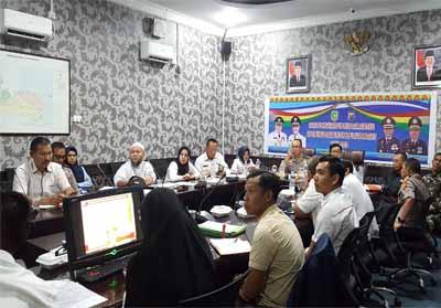 Rapat pelaksanaan supervisi dan asistensi Saber Pungli di Kabupaten Kepulauan Meranti