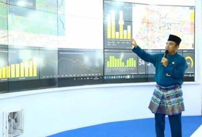Kepala Dinas Kominfo, Statistik dan Persandian Kota Pekanbaru, Firmansyah Eka Putra. Foto: Haluan Riau