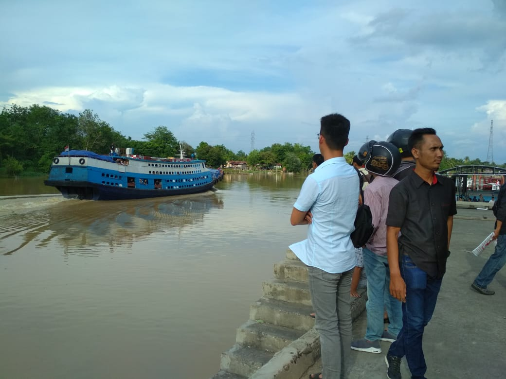 Pelabuhan Sungai Duku.