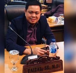 Anggota Komisi I DPRD Pelalawan, Faizal SE.