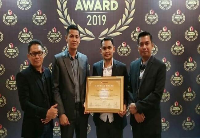 Bawaslu Meranti raih penghargaan ketiga Bawaslu Awards kategori kinerja pengawasan.