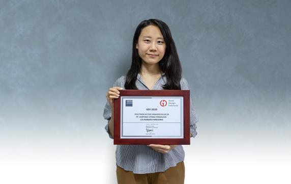 PAS 8C28 raih penghargaan di dalam ajang GDI 2020.