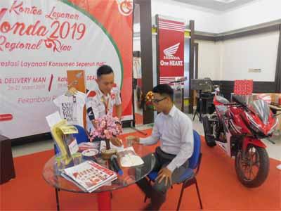 Kontes Layanan Honda Regional Riau Reguler Dealer