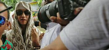 Bahar bin Smith sudah ditetapkan menjadi tersangka. Foto: CNN Indonesia