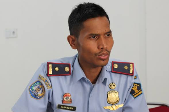 Kepala Imigrasi Tembilahan Najaruddin