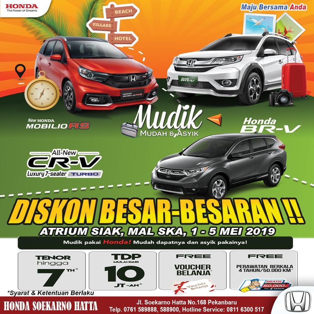 Promo Honda Mudik Asik.
