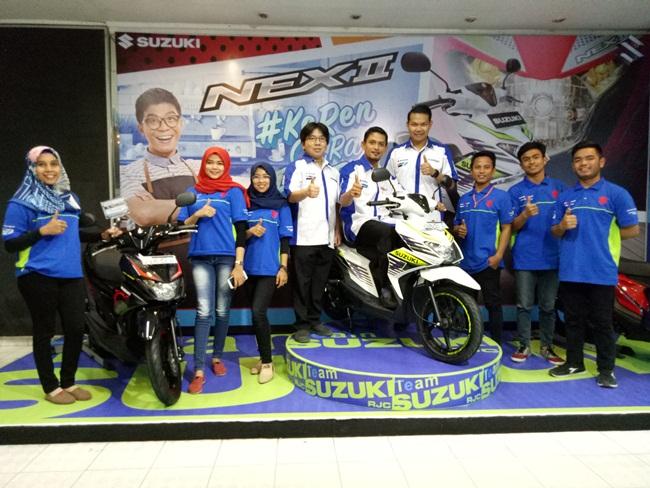Launching Suzuki NEX II di Pekanbaru