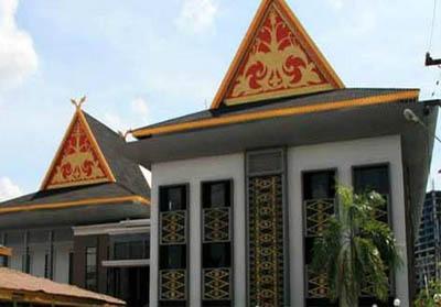 Gedung DPRD Pekanbaru.