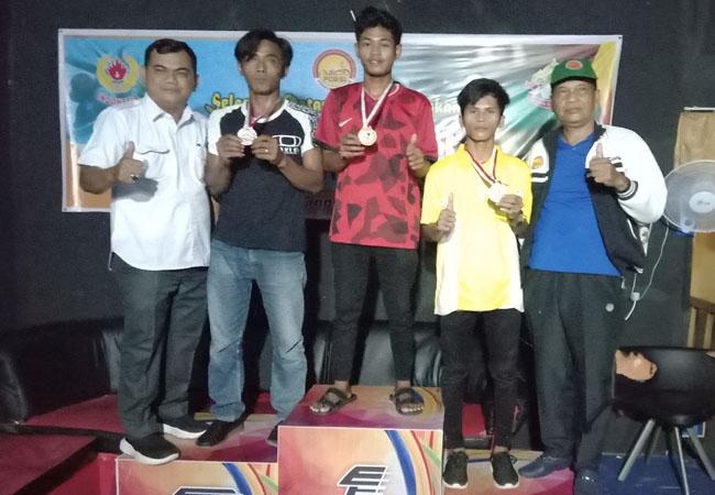 Kecamatan Pasir Limau Kapas (Palika) meraih emas pertama di 9 Ball Single di cabang olahraga (cabor) billiard Porkab Rohil.