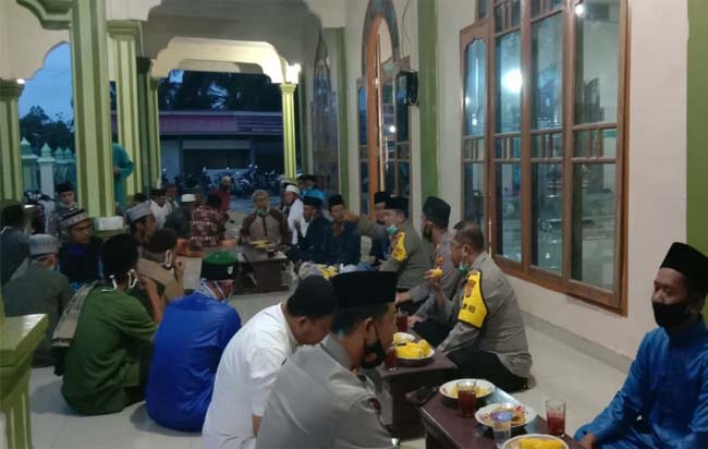 Kapolres Rohul AKBP Taufiq Lukman Nurhidayat, rutin laksanakan program Suling ke masjid masjid di Rohul