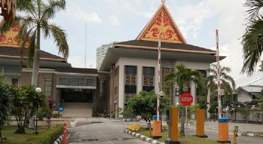 Kantor DPRD Pekanbaru.