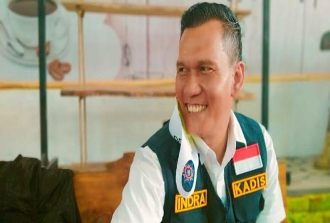 Kadis ESDM Riau Indra Agus Lukman