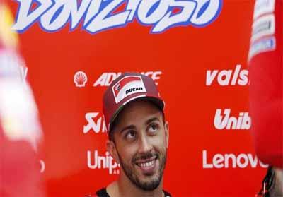 Dovizioso Tercepat, Marquez Keempat di FP3 MotoGP Jepang Andrea Dovizioso jadi yang tercepat di latihan bebas ketiga MotoGP Jepang. Foto : CnnIndonesia
