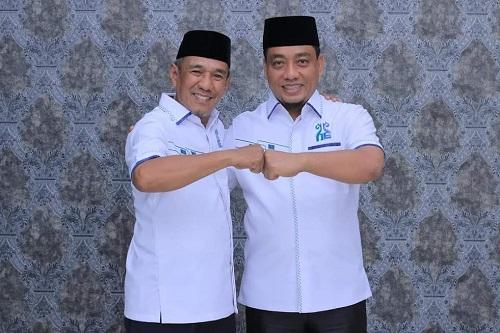 Paslon Hafith Syukri dan Erizal.