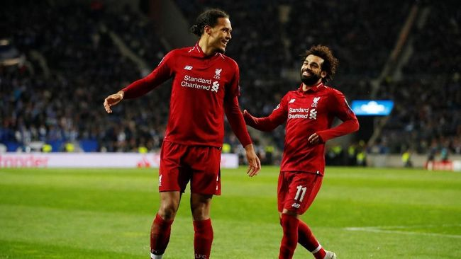 Liverpool bakal berjumpa Barcelona di babak semifinal Liga Champions.( REUTERS/Andrew Boyers)