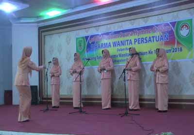 DWP Rohil gelar lomba Paduan Suara Hymne dan Mars Wanita Persatuan.