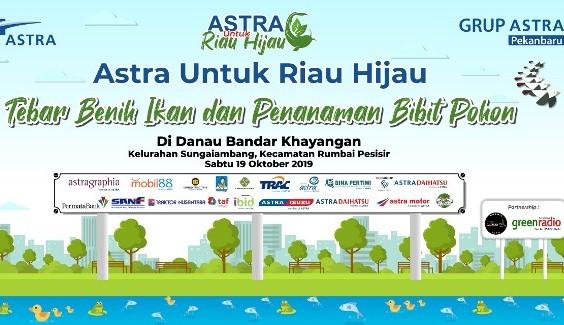 Ilustrasi Astra untuk Riau Hijau