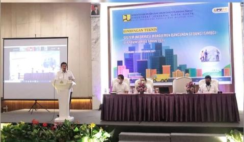 BPPW Riau gelar Bimbingan Teknis Sistem Informasi Manajemen Bangunan Gedung Provinsi Riau Tahun 2021.