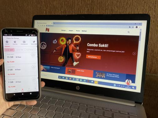 Telkomsel memperkenalkan Paket Combo Sakti yang mengakomodir kebutuhan komunikasi mencakup SMS, Telepon, dan kuota internet. Paket ini dapat dimanfaatkan pelanggan untuk berkomunikasi dalam era new normal yang mengharuskan banyak aktivitas dilakukan secara virtual.