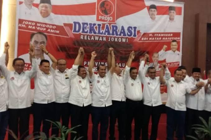 Deklarasi Kepala Daerah di Riau dukung Jokowi-Amin.
