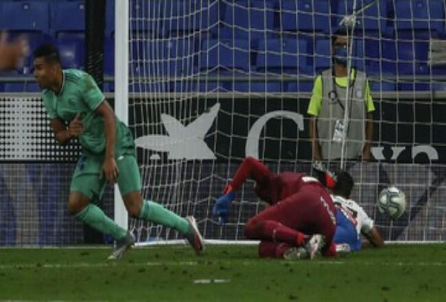 Real Madrid kini berada di puncak klasemen La Liga Spanyol usai mengalahkan Espanyol 1-0. Foto: Detik