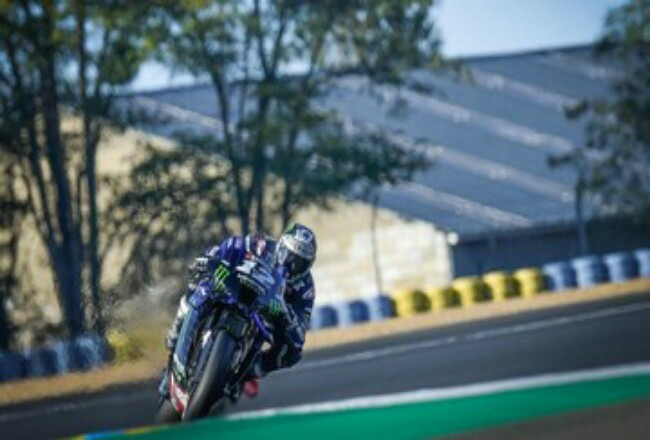 Maverick Vinales jadi yang tercepat di FP2 MotoGP Aragon.