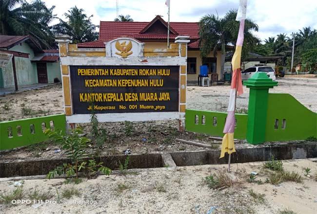 Kantor Desa Muara Jaya, Kecamatan Kepenuhan Hulu.