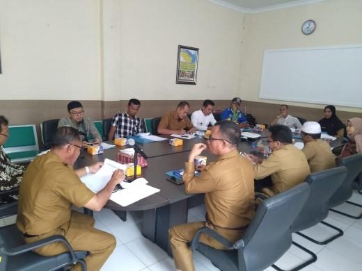 Sidang dewan pengupahan penetapan UMK Kepulauan Meranti 2020.