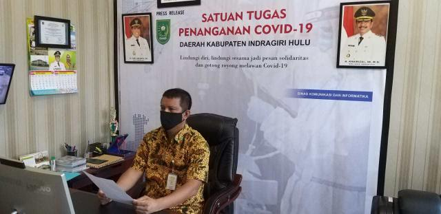 Juru Bicara penanganan covid-19 Kabupaten Indragiri Hulu (Inhu) Jawalter S M.Pd