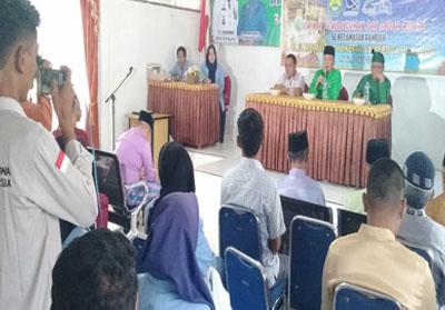 Mahasiswa Unri taja Seminar Pengembangan dan Sadar Wisata di Kecamatan Rambah Rohul.