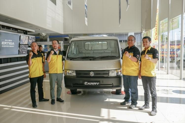 Launching Suzuki New Carry pick up beberapa waktu lalu di Pekanbaru