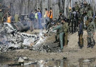 Ilustrasi bentrokan Kashmir.