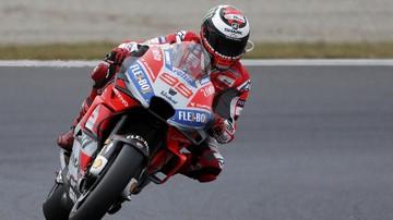 Andrea Dovizioso meraih pole position MotoGP Jepang 2018. Foto : CnnIndonesia