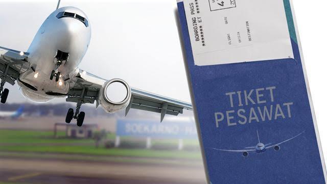 Tiket pesawat mahal di musim mudik.