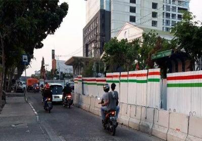Proyek IPAL di Jalan Ahmad Yani, Pekanbaru. Foto: Tribunpekanbaru