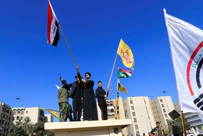 Demo massa Irak.
