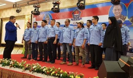 Pelantikan pengurus HNSI Kabupaten Kepulauan Meranti