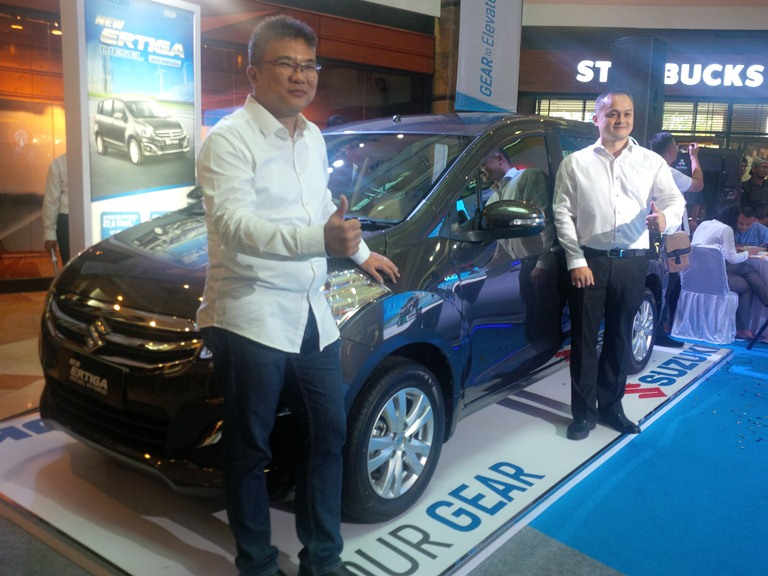 Launching New Ertiga Diesel Hybrid